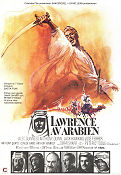 Lawrence av Arabien Poster 70x100cm GD-FN original