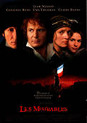 Les Miserables 1998 poster Liam Neeson Bille August