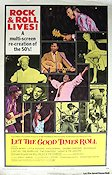 Let the Good Times Roll 1973 poster Chuck Berry