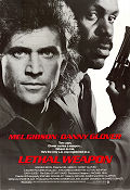 Lethal Weapon 1987 poster Mel Gibson Richard Donner