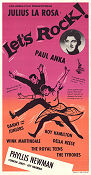 Let´s Rock 1958 poster Paul Anka