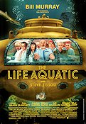 The Life Aquatic with Steve Zissou 2004 poster Bill Murray Wes Anderson