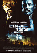 Linje 123 kapad 2009 poster Denzel Washington Tony Scott