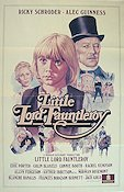 Little Lord Fauntleroy 1982 poster Alec Guinness