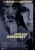 Long Kiss Goodnight 1996 poster Geena Davis