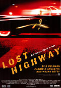 Lost Highway 1997 poster Bill Pullman David Lynch