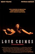 Love Crimes 1991 poster Sean Young