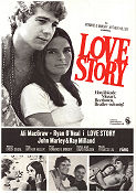 Love Story 1970 poster Ali MacGraw Arthur Hiller