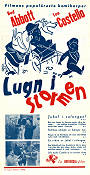 Lugn i stormen 1943 poster Abbott and Costello