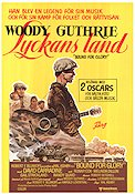 Lyckans land 1976 poster Woody Guthrie Hal Ashby