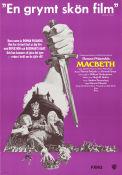Macbeth 1972 poster Jon Finch Roman Polanski