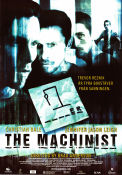 The Machinist 2004 poster Christian Bale