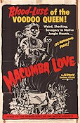 Macumba Love Poster 68x102cm USA GD tape original