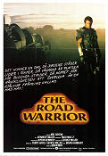 Mad Max 2 The Road Warrior 1981 Filmaffisch Mel Gibson