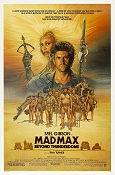 Mad Max Beyond Thunderdome 1985 poster Mel Gibson
