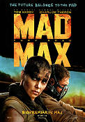 Mad Max Fury Road 2015 poster Tom Hardy