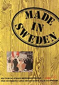 Made in Sweden Poster 70x100cm FN original