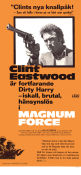 Magnum Force 1973 poster Clint Eastwood