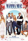 Mamma Mia the Movie Poster 70x100cm RO original