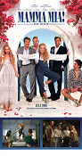 Mamma Mia the Movie Poster 30x70cm NM original