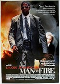 Man on Fire Poster 70x100cm RO original