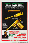 The Man with the Golden Gun 1974 poster Roger Moore