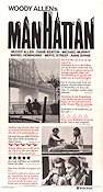 Manhattan Poster 30x70cm NM original