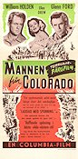 Mannen från Colorado 1948 poster William Holden