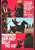 Mannen som sköt Billy the Kid 1967 poster Peter Lee Lawrence Julio Buchs