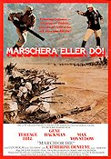 Marschera eller dö 1977 poster Terence Hill Dick Richards