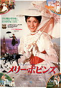 Mary Poppins 1964 poster Julie Andrews Robert Stevenson