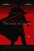 The Mask of Zorro 1998 poster Antonio Banderas