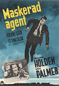 Maskerad agent 1962 poster William Holden