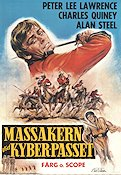 Massakern i Khyber-passet 1971 poster Peter Lee Lawrence