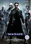 The Matrix 1999 poster Keanu Reeves Andy Wachowski