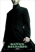 The Matrix Reloaded 2003 poster Keanu Reeves Andy Wachowski