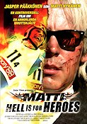 Matti Hell is for Heroes Poster 70x100cm RO original