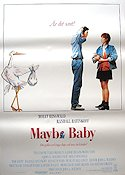Maybe Baby 1988 poster Molly Ringwald