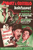 Meet Dr Jekyll and Mr Hyde Poster FN 40x60 (Finland) original