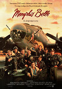 Memphis Belle 1990 poster Matthew Modine Michael Caton-Jones