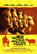 The Men Who Stare at Goats 2009 poster Ewan McGregor