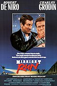 Midnight Run 1988 poster Robert De Niro
