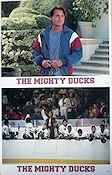 The Mighty Ducks Lobbykort USA 11x14 NM original