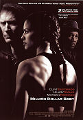 Million Dollar Baby 2004 poster Hilary Swank Clint Eastwood