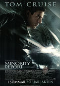 Minority Report 2002 poster Tom Cruise Steven Spielberg