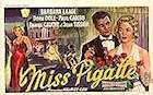 Miss Pigalle 1958 poster Barbara Laage