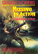 Missing in Action Poster 70x100cm FN folded original