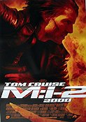 Mission Impossible 2 MI2 2000 poster Tom Cruise