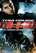 Mission Impossible 3 2006 poster Tom Cruise JJ Abrams