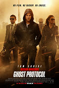 Mission Impossible Ghost Protocol 2011 poster Tom Cruise Brad Bird